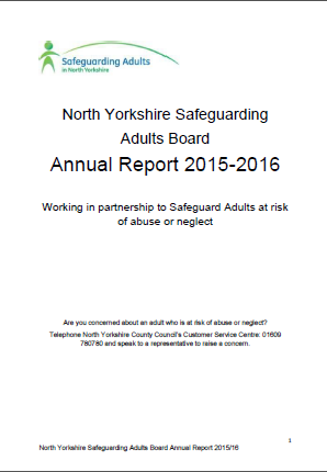 NYSAB Annual Report 2015-2016