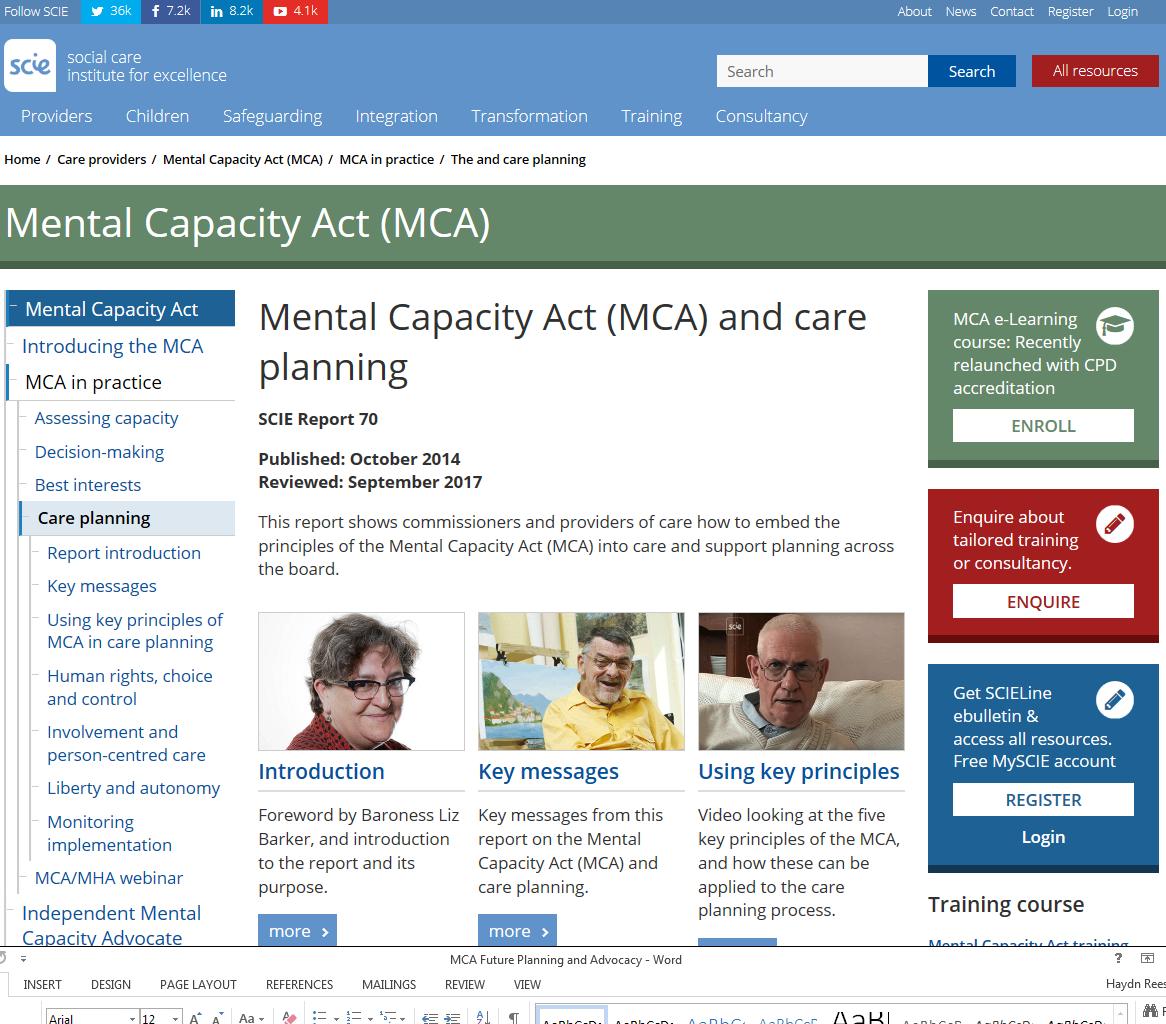 MCA Care Planning